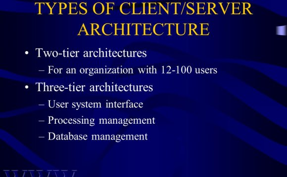 38 TYPES OF CLIENT/SERVER