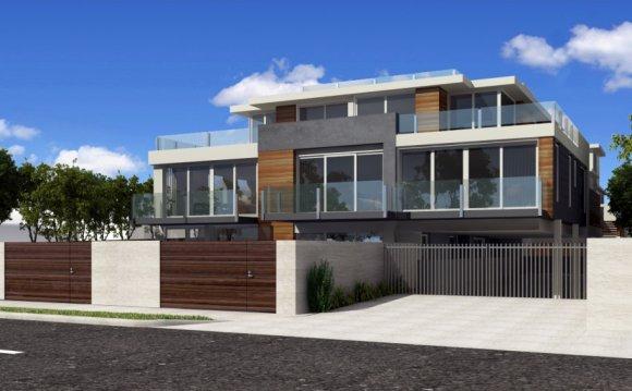 New American Modern Home