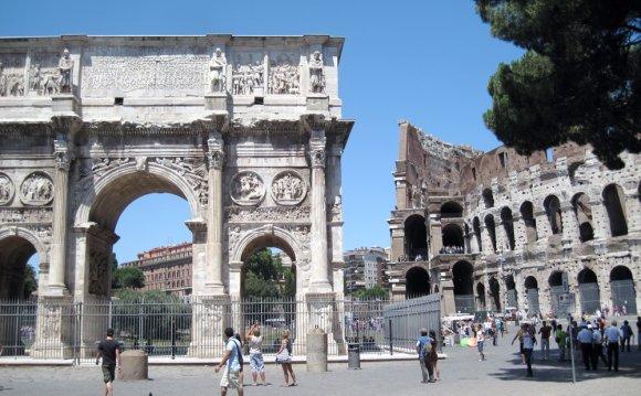 Ancient Rome Buildings