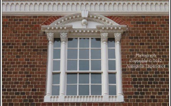 Palladian Style Window At