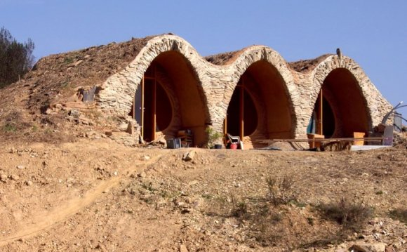 Vaults in Tamera Ecovillage: