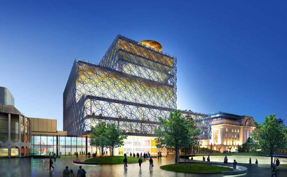 Birmingham Library building