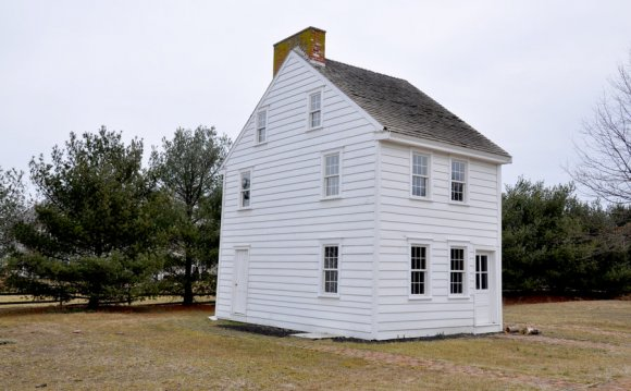 Circa house 1700 s Stock 2 by