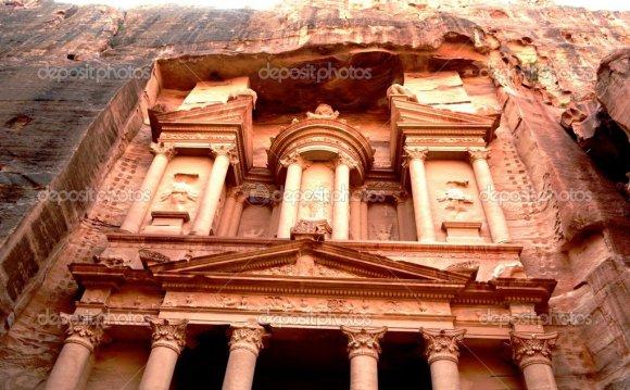 City, Petra, canyon, ancient
