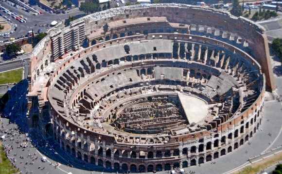The Colosseum or Flavian