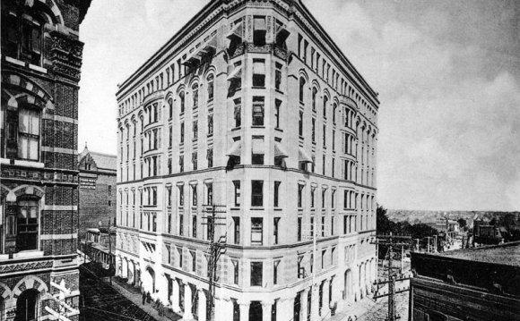 Preceded this building