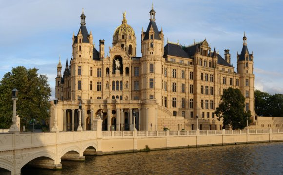 Europe Architecture Schwerin