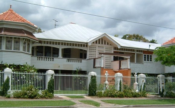 A Queenslander style house in