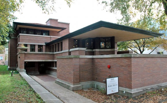 The Robie House on the
