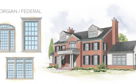 Federal Home Style Window
