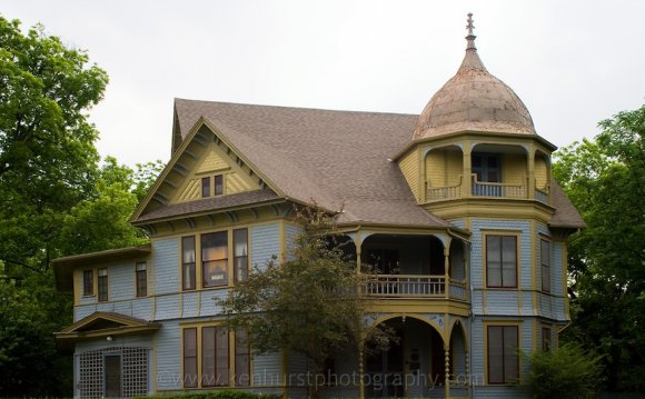 Gothic Victorian style house