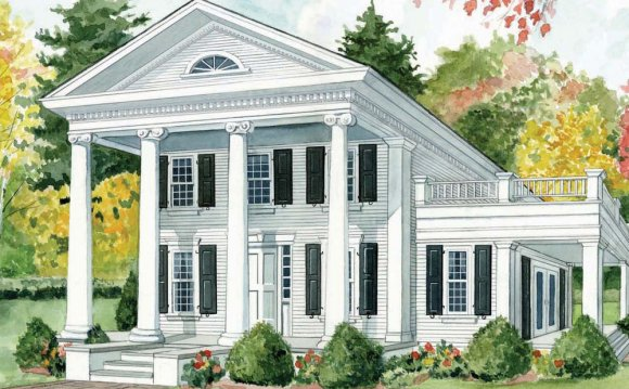 Greek Revival Home Style