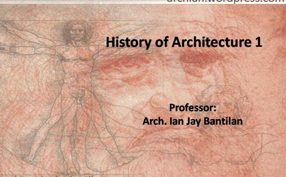History of Architecture 1