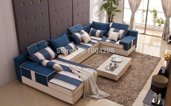 Stile moderno divano ad angolo