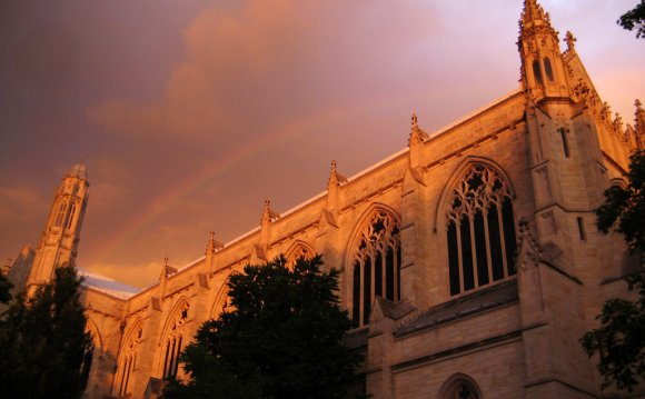 A rainbow over Princeton