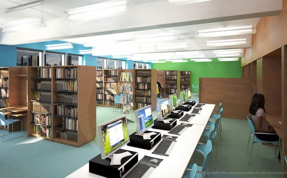 Library-interior