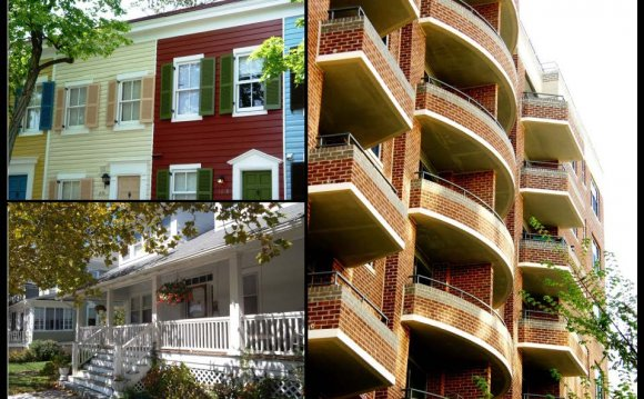 Types of housing include