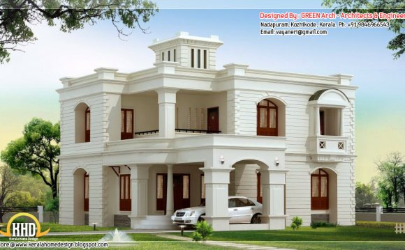 New style house design by
