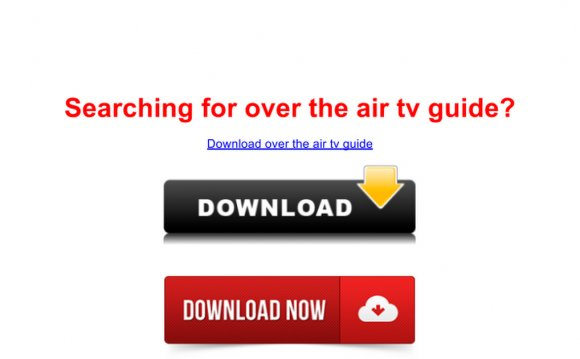 Over the air tv guide - site