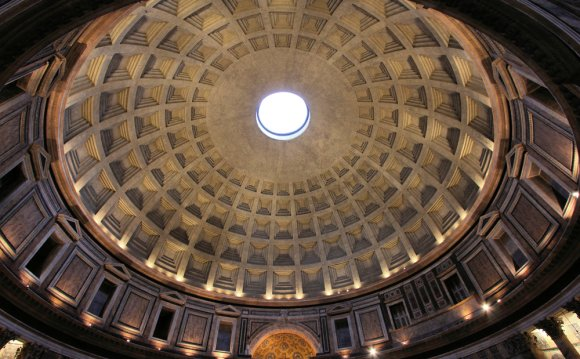 Pantheon Rome Dome