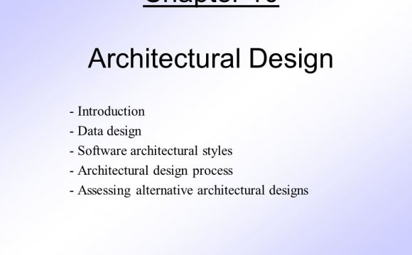 Data design - Software
