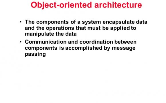 Techniques Object-oriented