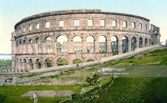 Pula, the Roman arena, Istria