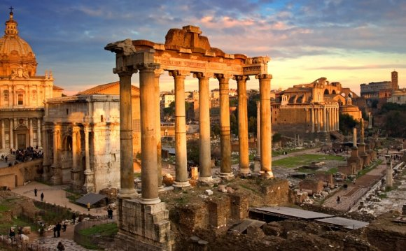 Roman forum, rome, ancient