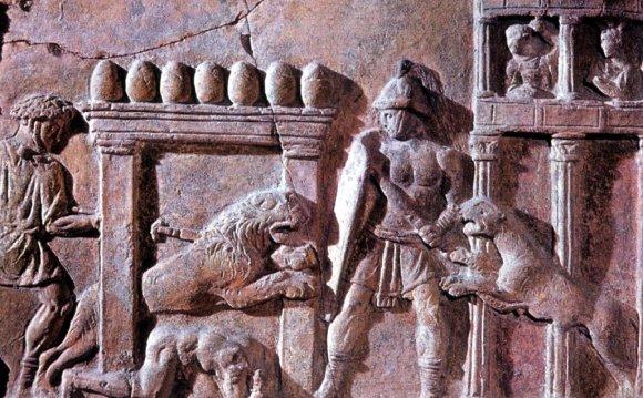 Roman Relief depicting