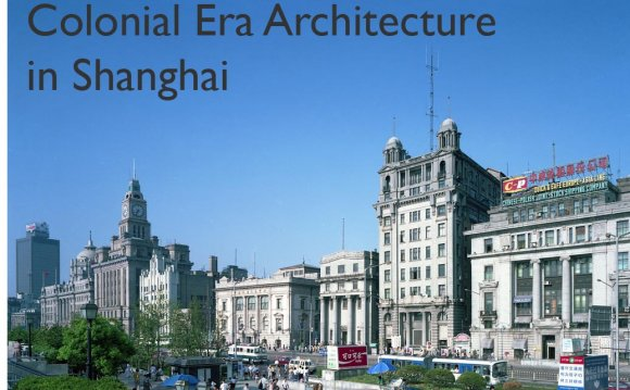 Shanghai s Historical Western