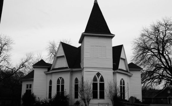 Small town Gothic revival