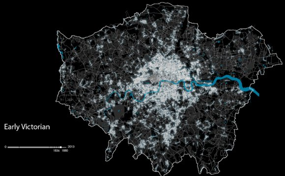 The evolution of London: the