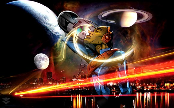 #1 Space Age Digital Art