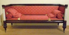 box sofa [Credit: Photograph by Trish Mayo. Brooklyn Museum, New York, Maria L. Emmons Fund, 41.1181]