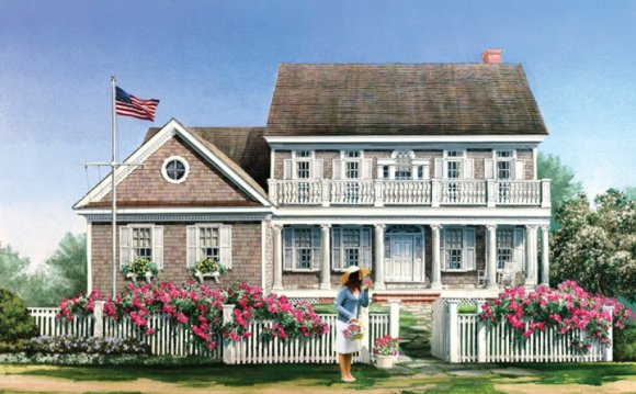 What is Colonial style house?