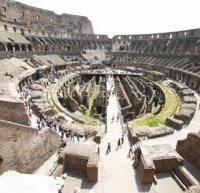 Colosseum Amphitheater Ruins