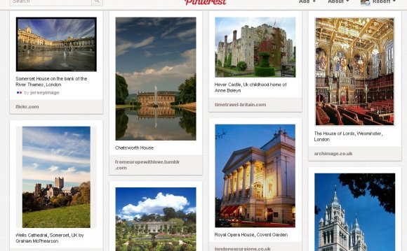 Famous English buildings