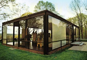 Glass House [Credit: Russ Kinne/Photo Researchers]