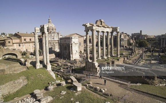 Ancient Roman structures