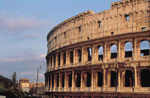Monuments in Rome: Colosseum