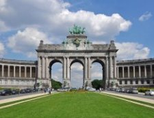 Most Famous Man-Made Arches: Arch of Cinquantenaire,  Brussles