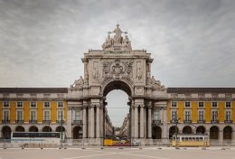 Most Famous Man-Made Arches: Rua Augusta Arch, Lisbon