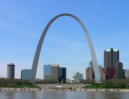 Most Famous Man-Made Arches: The Gateway Arch, St. Louis