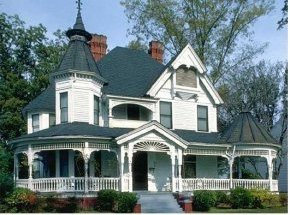 Older homes characterized by charm and elegance.
