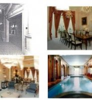 Particulars: These photos submitted to the Royal Borough of Kensington and Chelsea Council in October 2014 show the mansion needs refurbishing since it was last updated in the 1990s