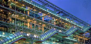 Pompidou Centre [Credit: Alex Bartel—Science Source/Photo Researchers, Inc.]