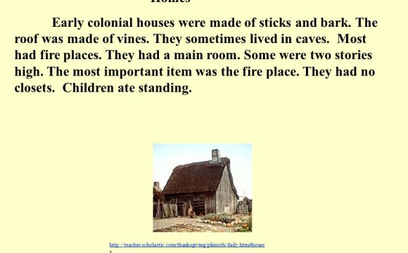 Early Colonial houses