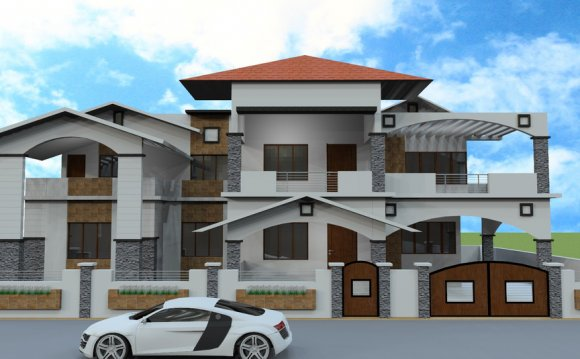 Modern style of Architecture