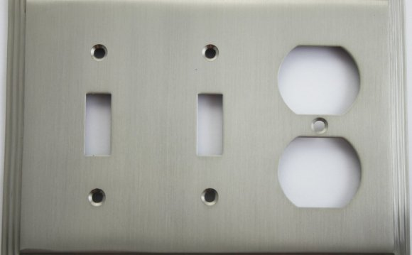 Satin Nickel Wall Plates