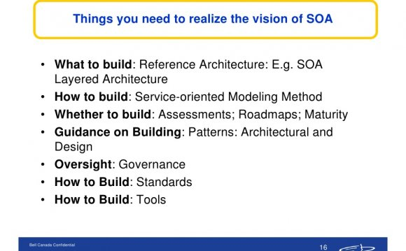 SOA Layered architecture